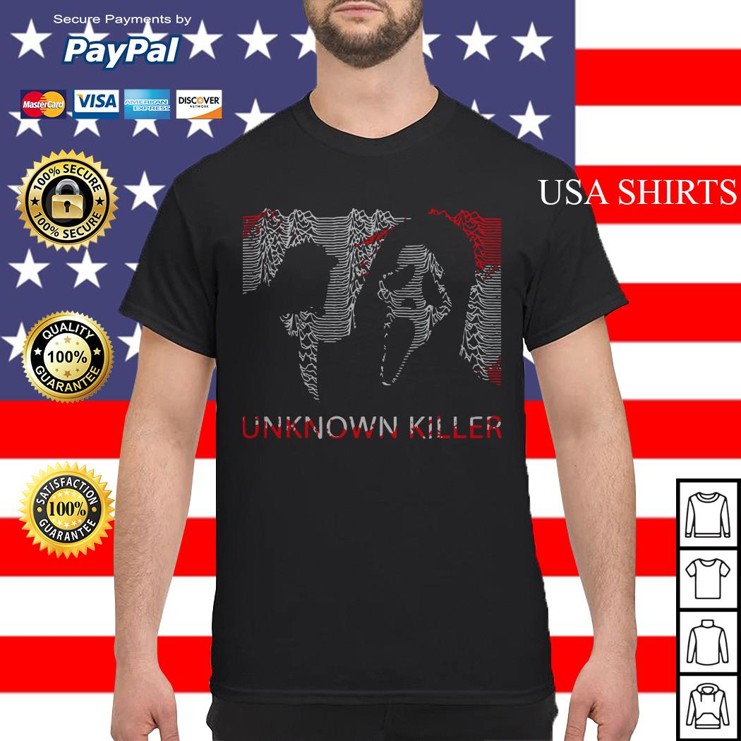 Ghostface unknown killer Halloween shirt
