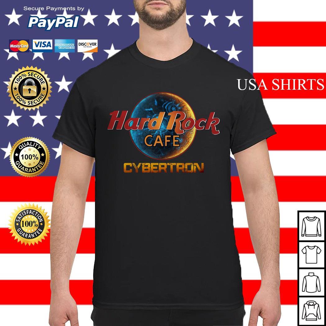 Hard Rock Cafe Cybertron Transformer shirt