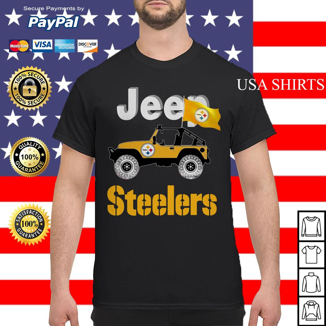 Jeep Pittsburgh Steelers shirt
