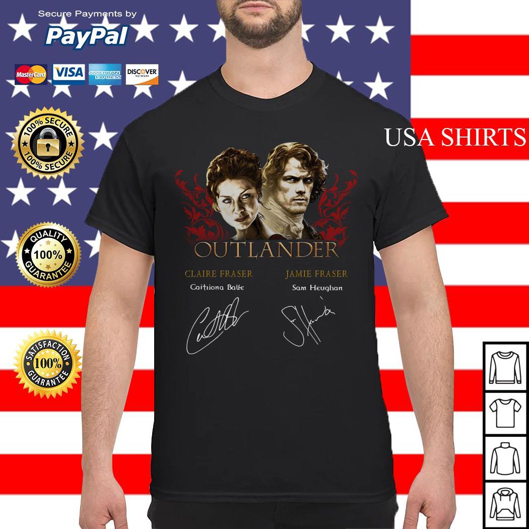 Outlander signature of Claire Fraser Jamie Fraser shirt