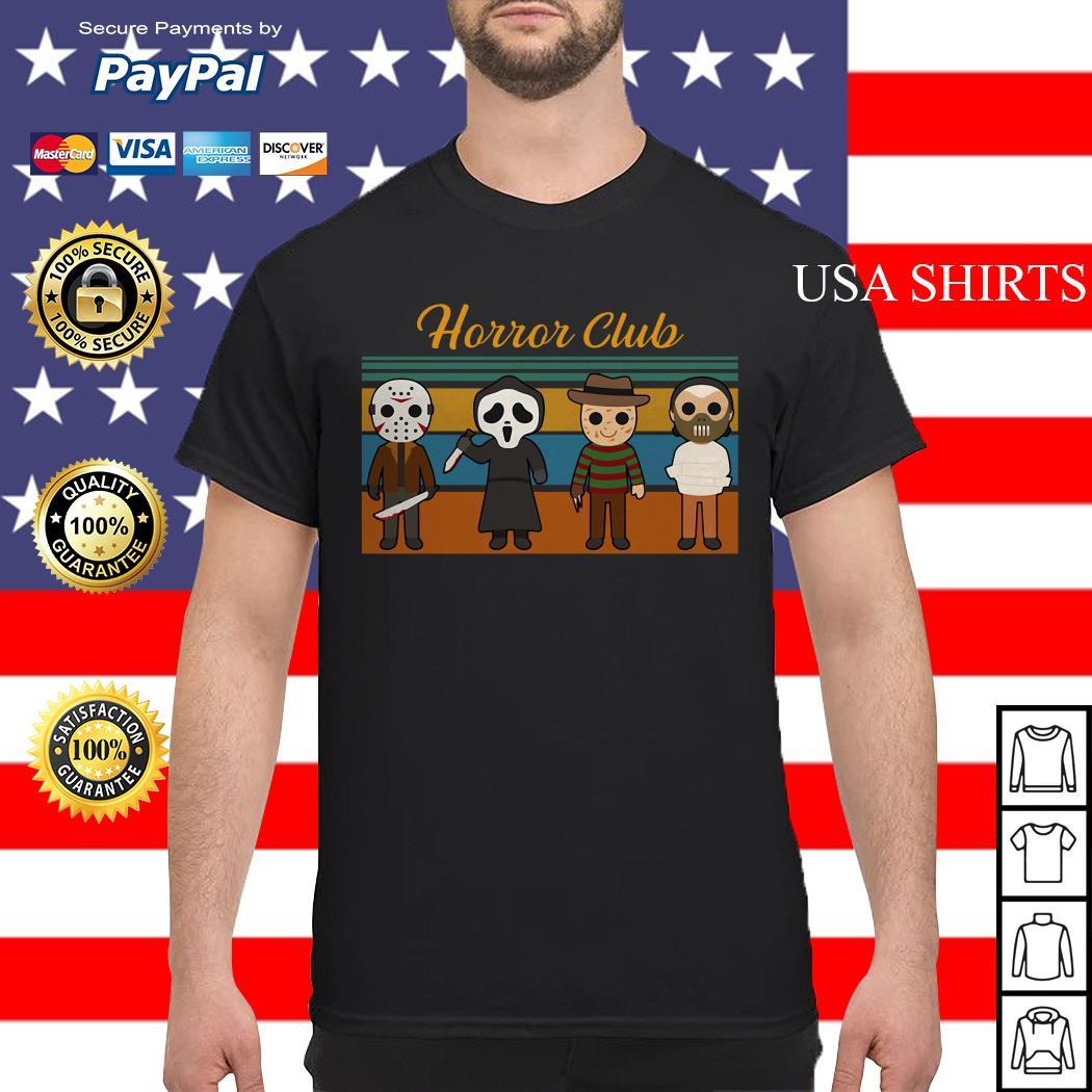 Halloween Horror club Horror character vintage shirt