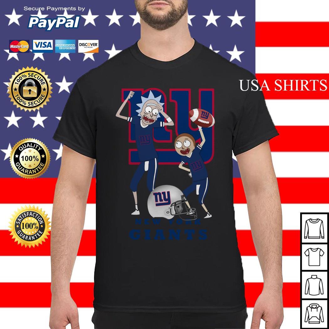 Rick and Morty New York Giants shirt