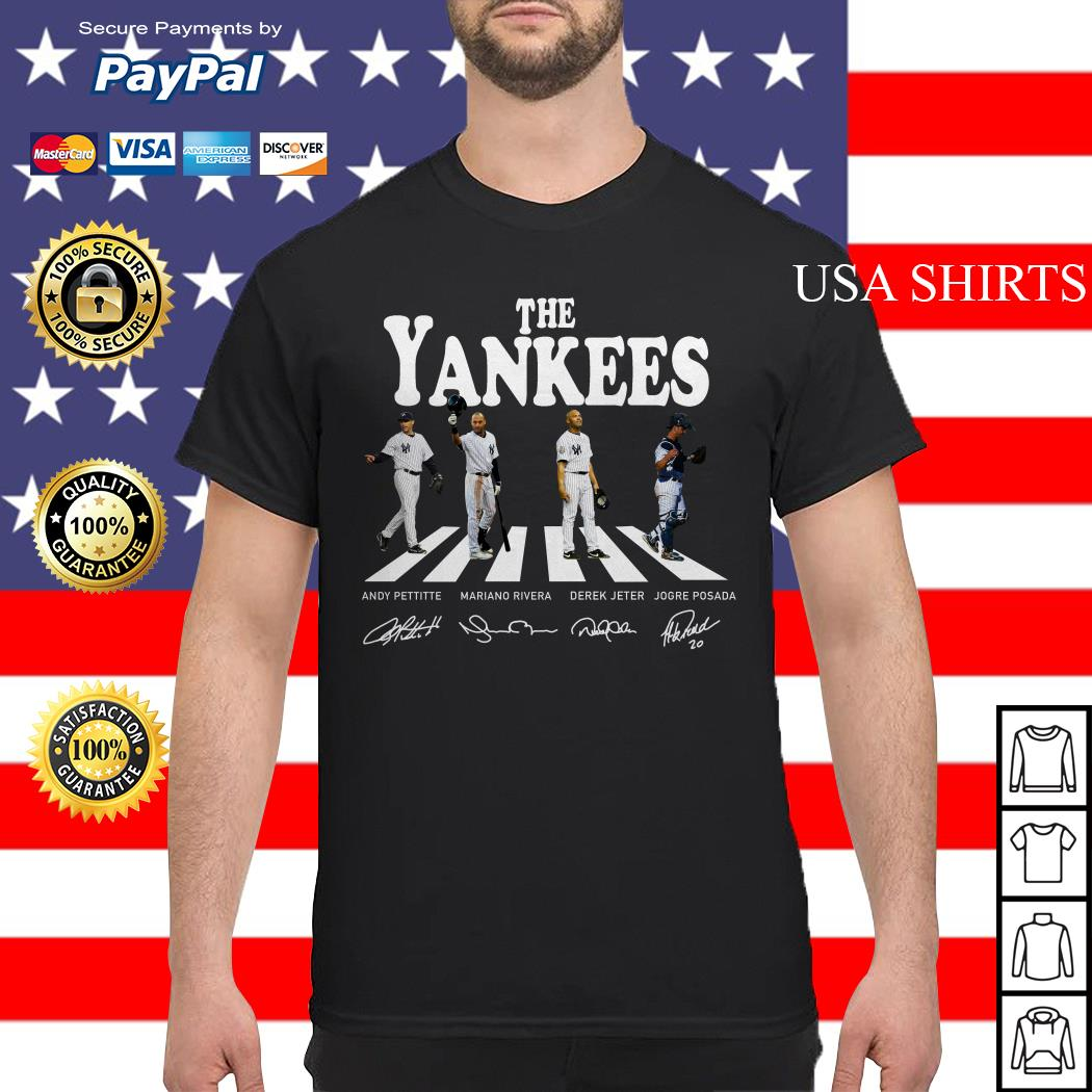 The Yankees abbey road signature shirt