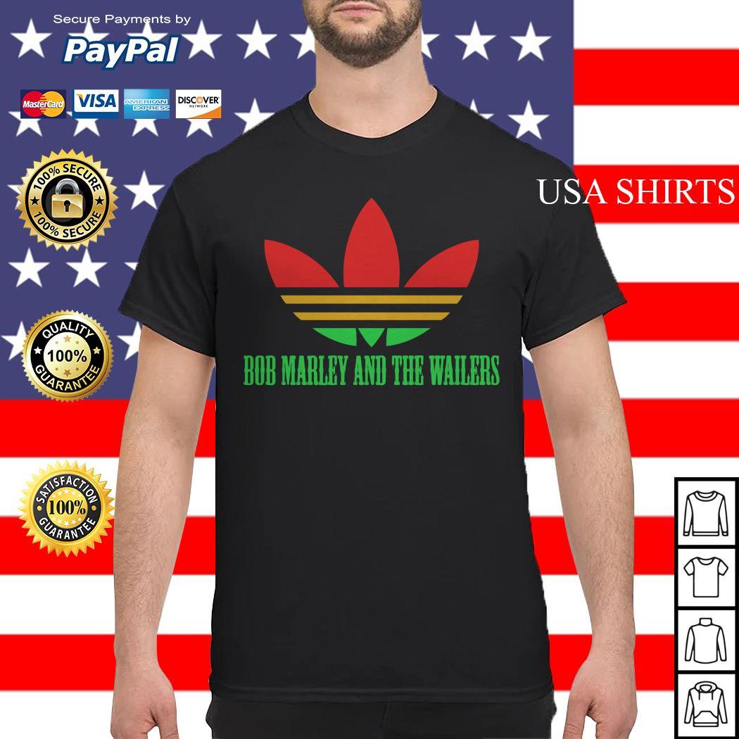 Bob marley and the wallers adidas shirt