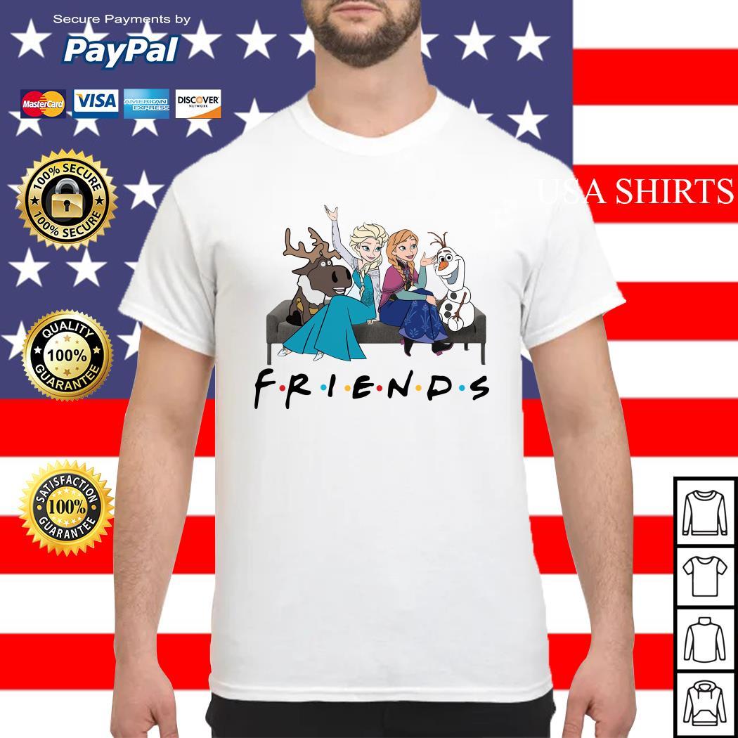Disney Frozen Elsa friends tv show shirt