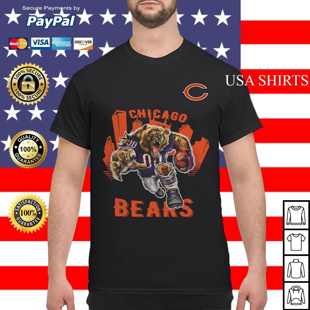 Fathead Chicago Bears Bruiser Bear shirt