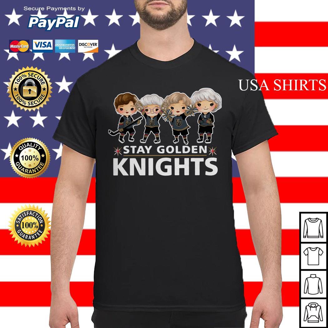 The Golden girl Stay Golden Knights shirt