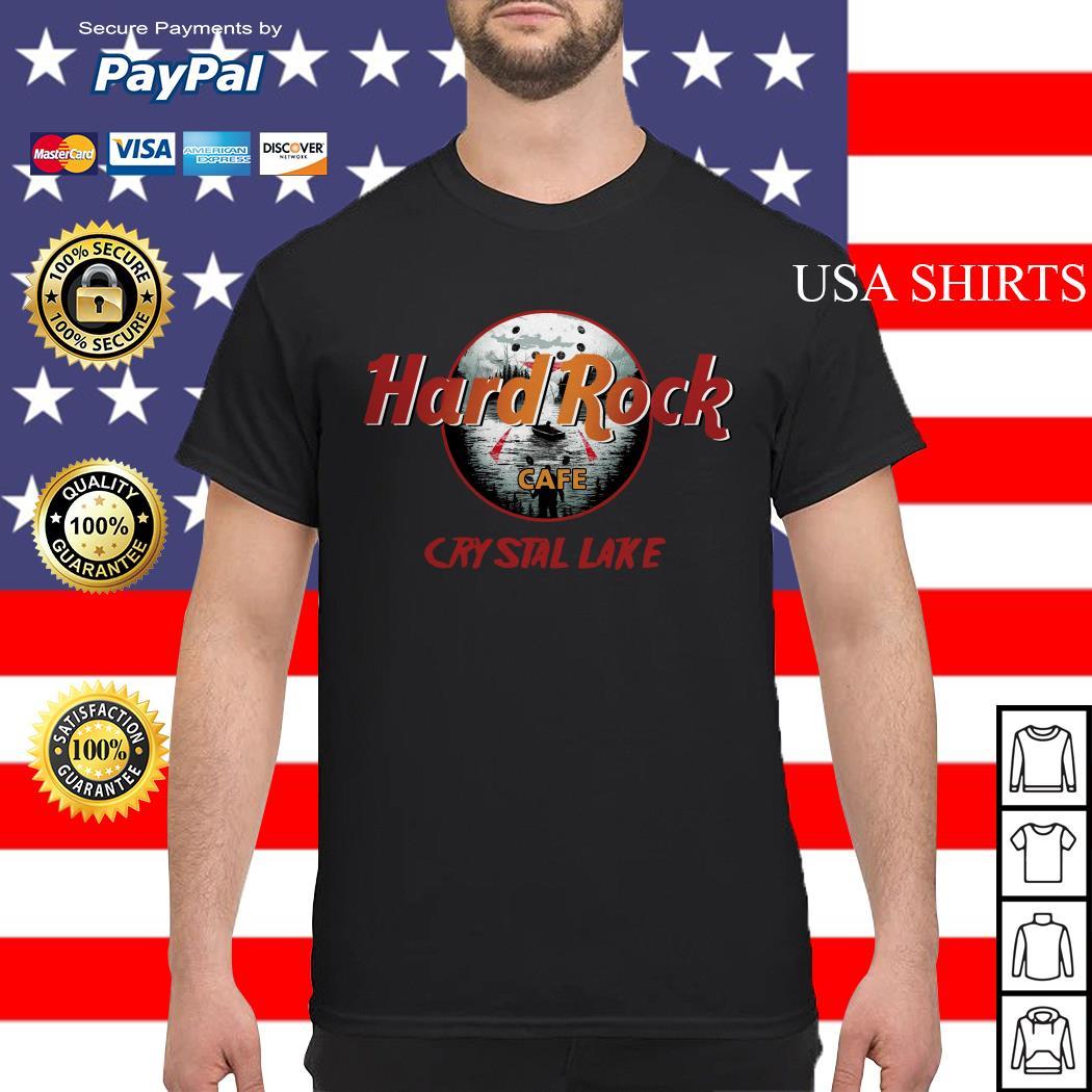Official Hard Rock cafe Crystal Lake shirt