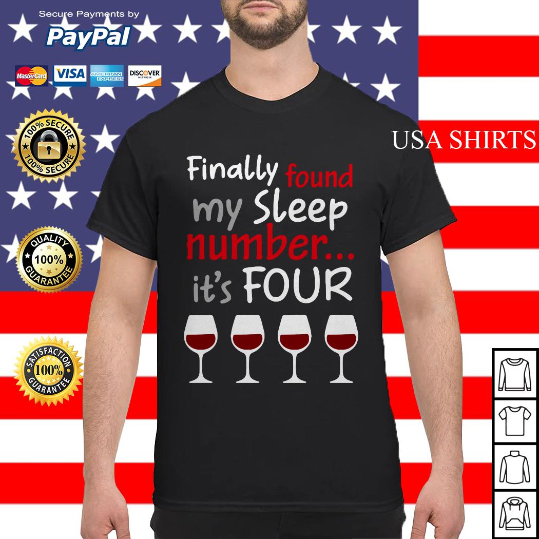 Finally found my sleep number it's four christmas shirt, sweater