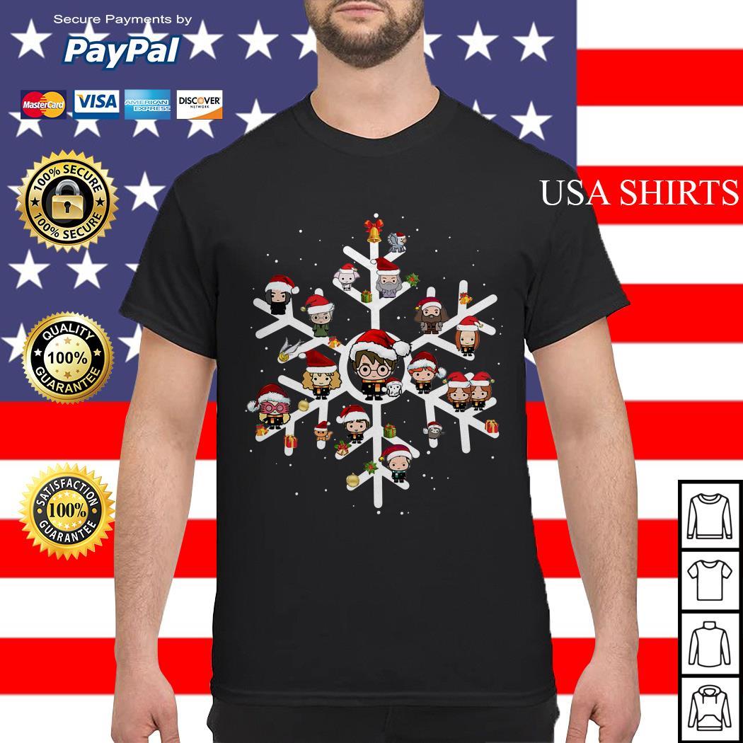 Snow flower Harry Potter chibi character Christmas shirt, sweater