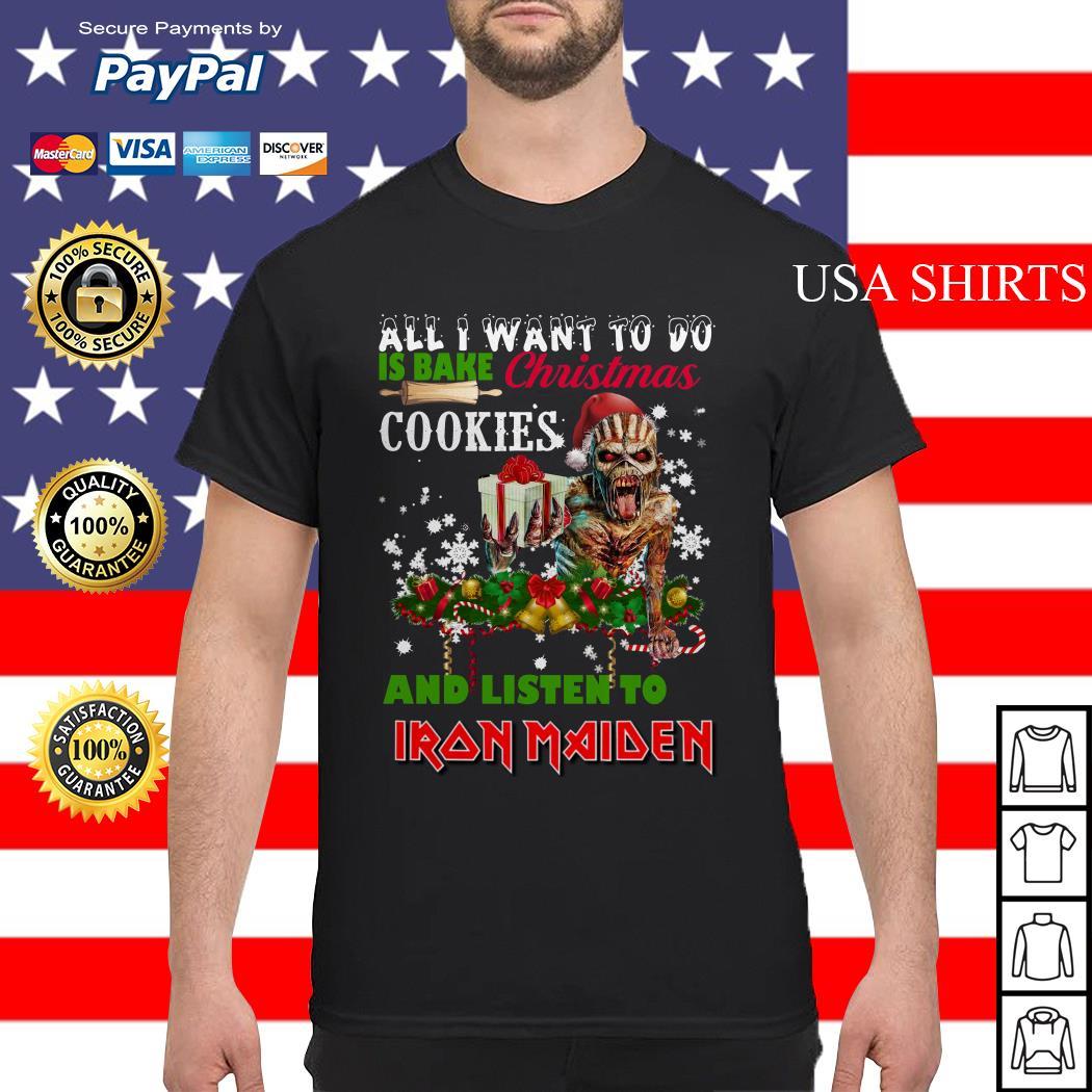 Iron Maiden Christmas shirt, sweater