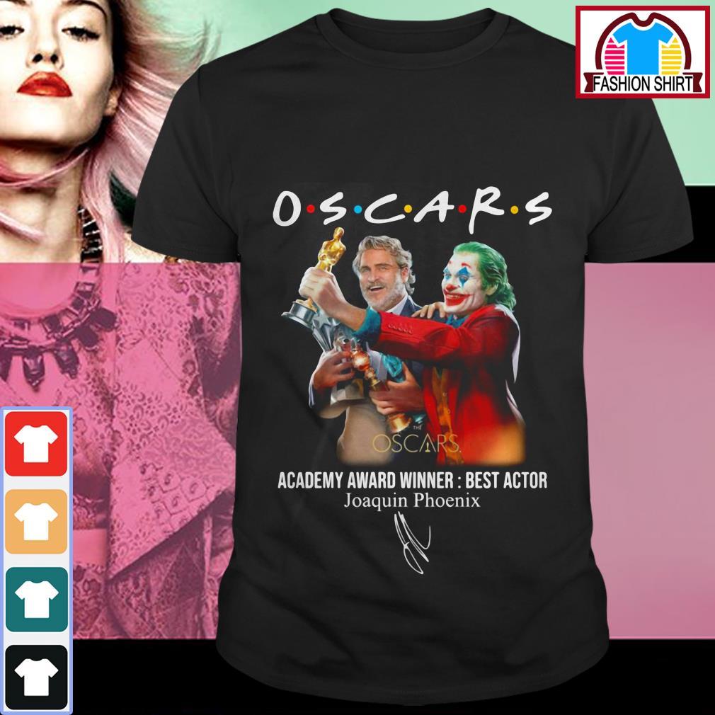 Official Oscars Academy award winner best actor Joaquin Phoenix shirt by tshirtat store