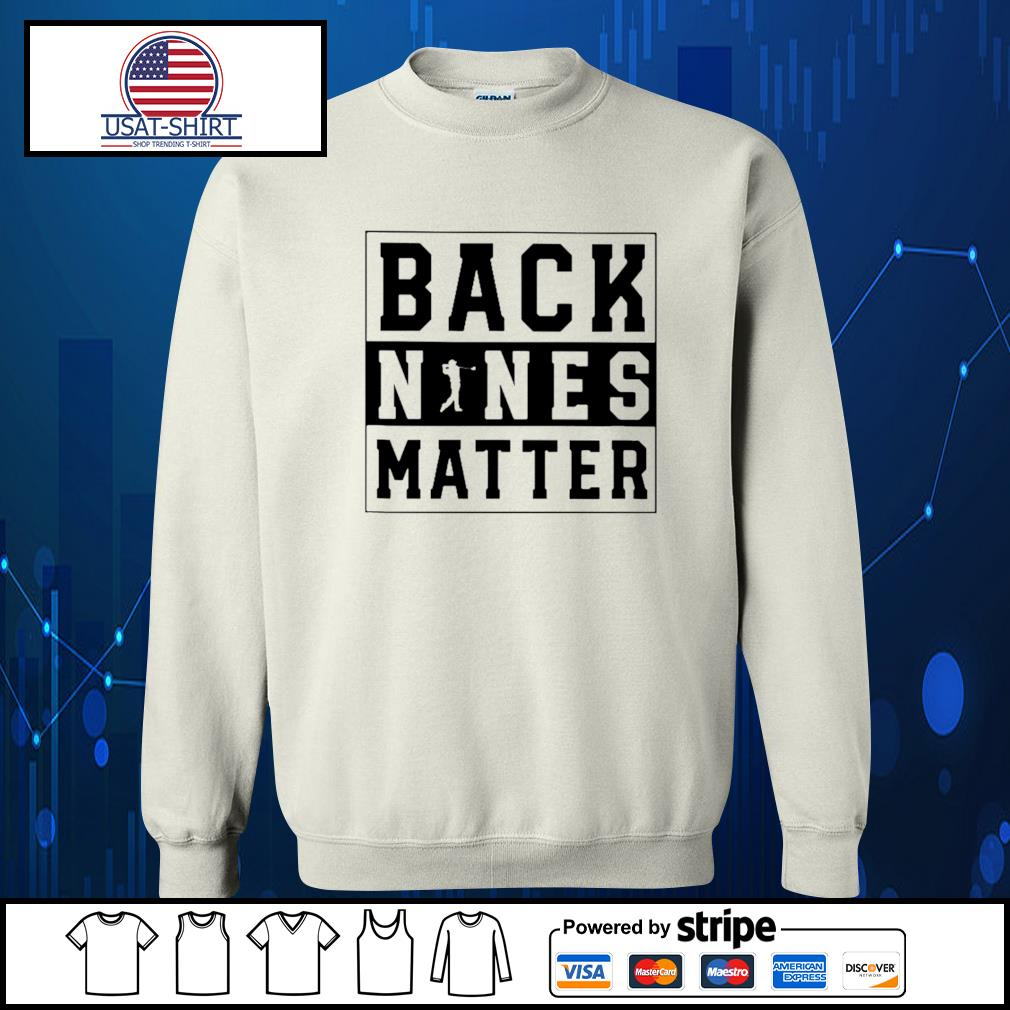 Golf back nines matter s Sweater