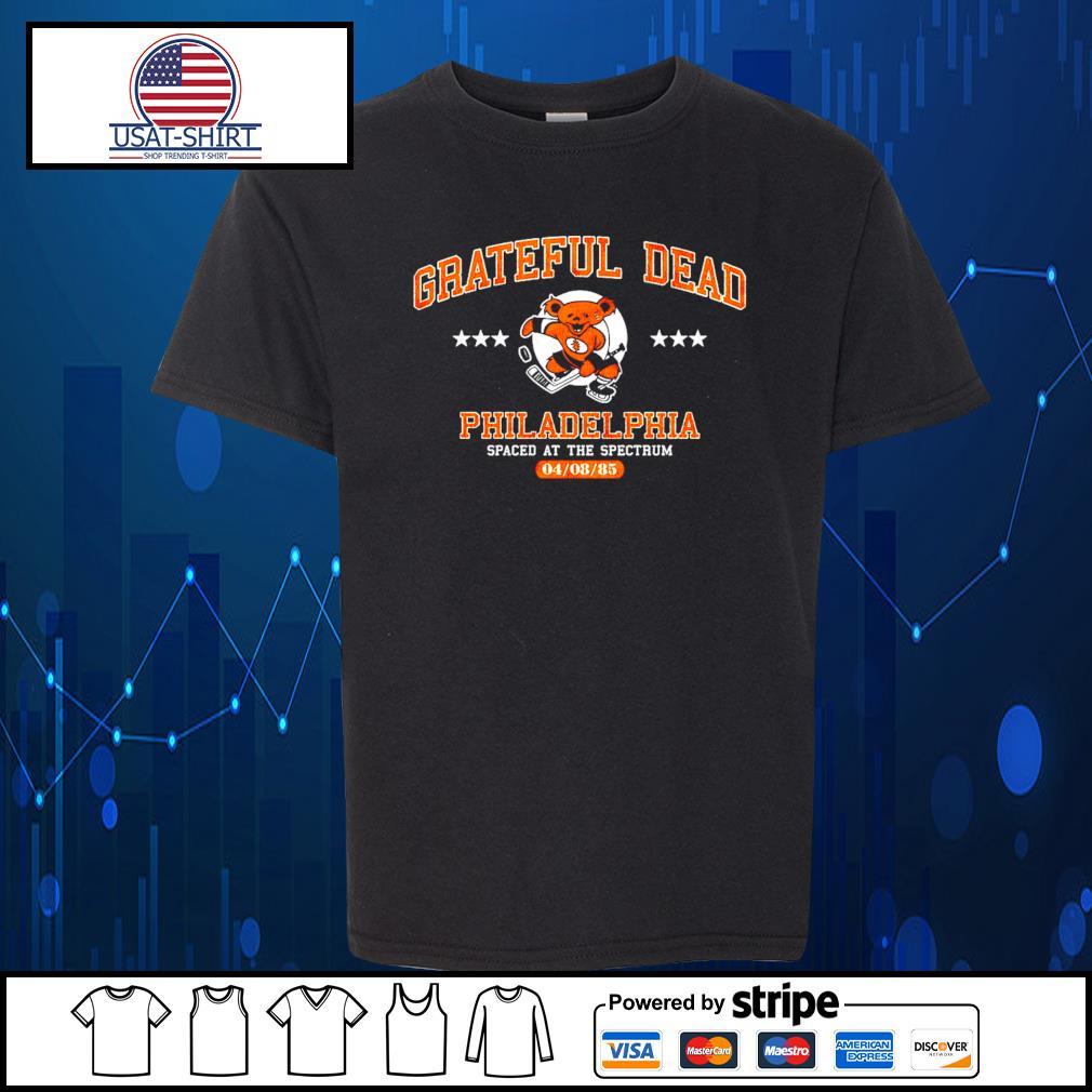 Grateful Dead Philadelphia spaced at the spectrum 04 08 85 s Kid-T-shirt