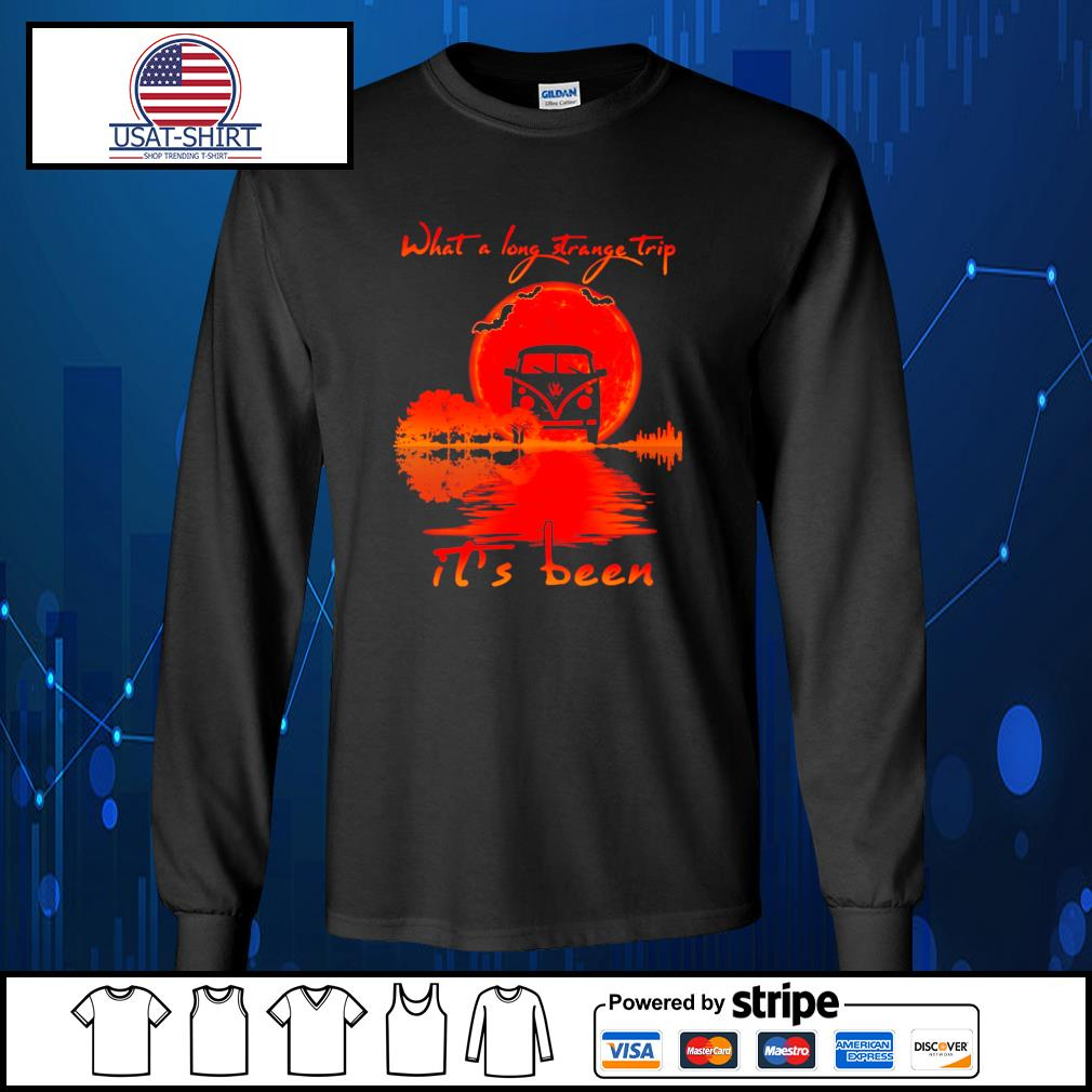 Halloween what a long strange trip it's been s Long-Sleeves-Tee