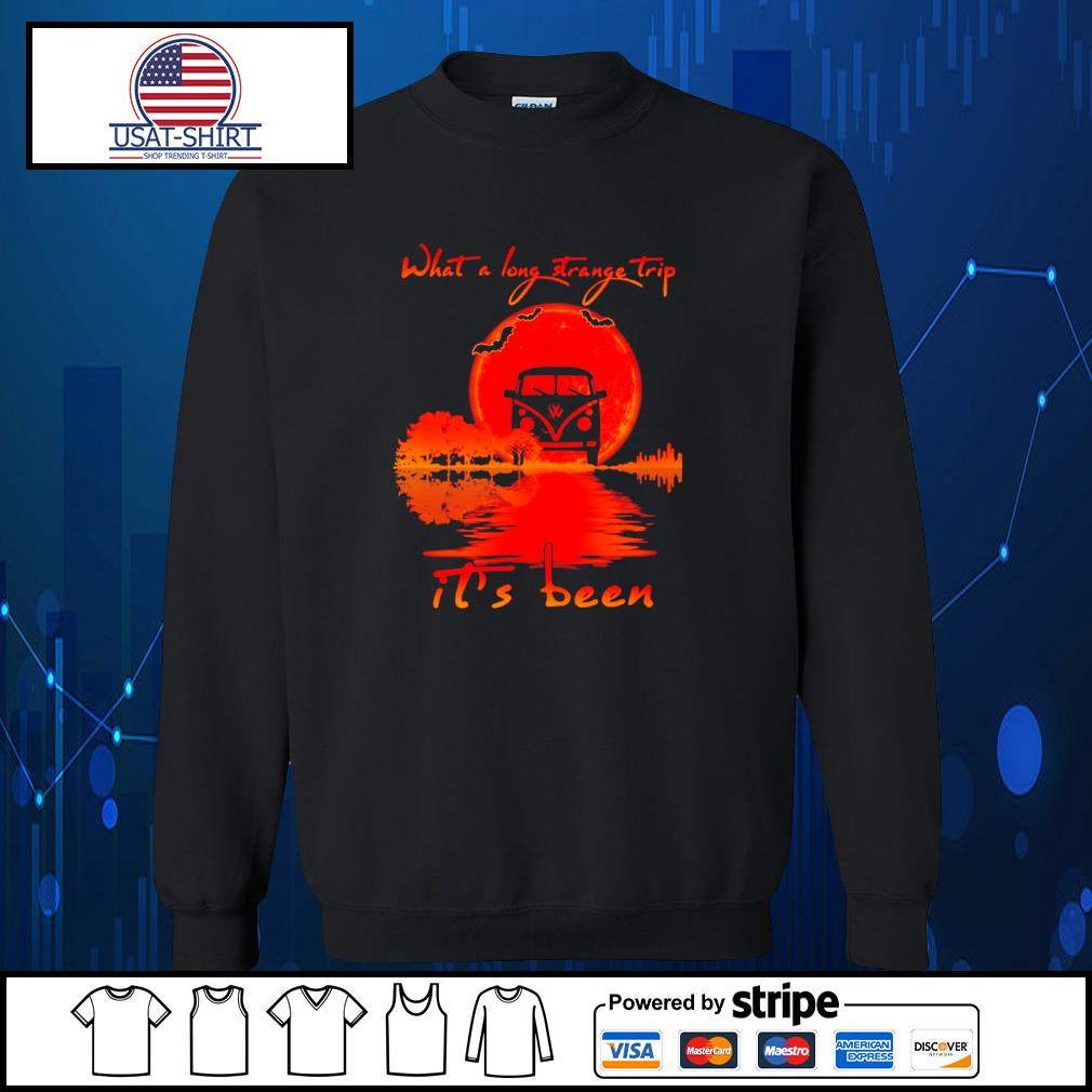 Halloween what a long strange trip it's been s Sweater