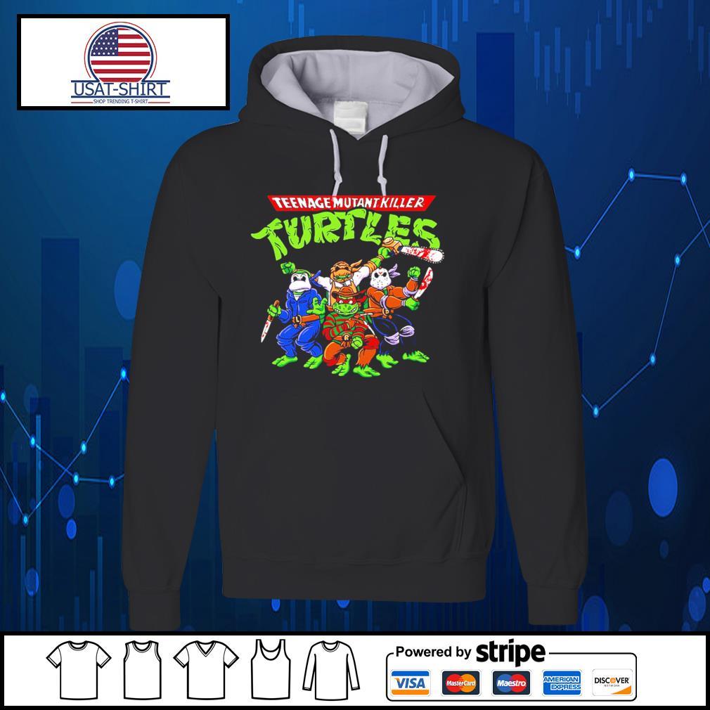 Horror Movie Characters teenage mutant killer Turtles s Hoodie