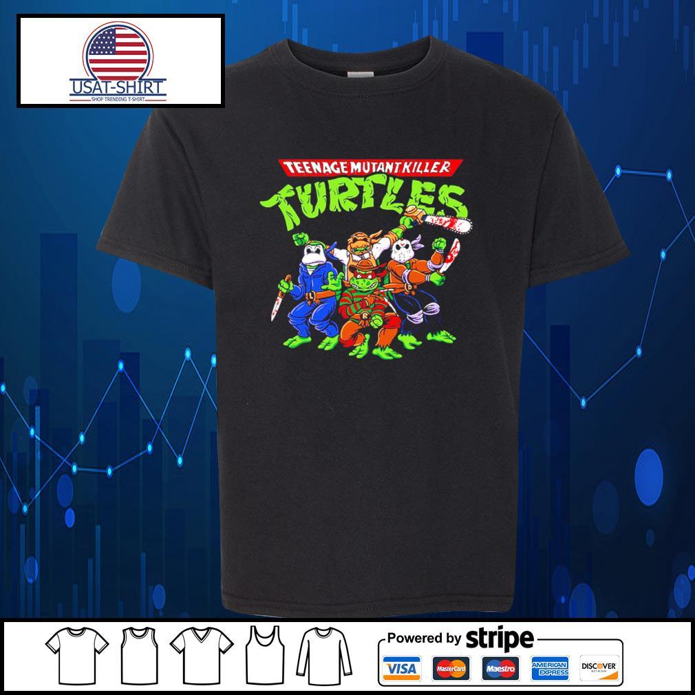 Horror Movie Characters teenage mutant killer Turtles s Kid-T-shirt
