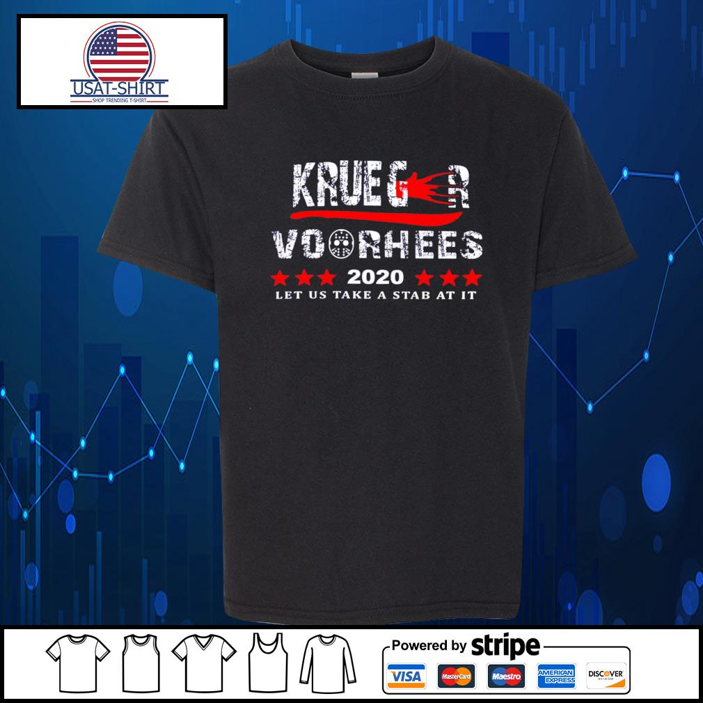 Krueger and Voorhees 2020 let us take a stab at it s Kid-T-shirt
