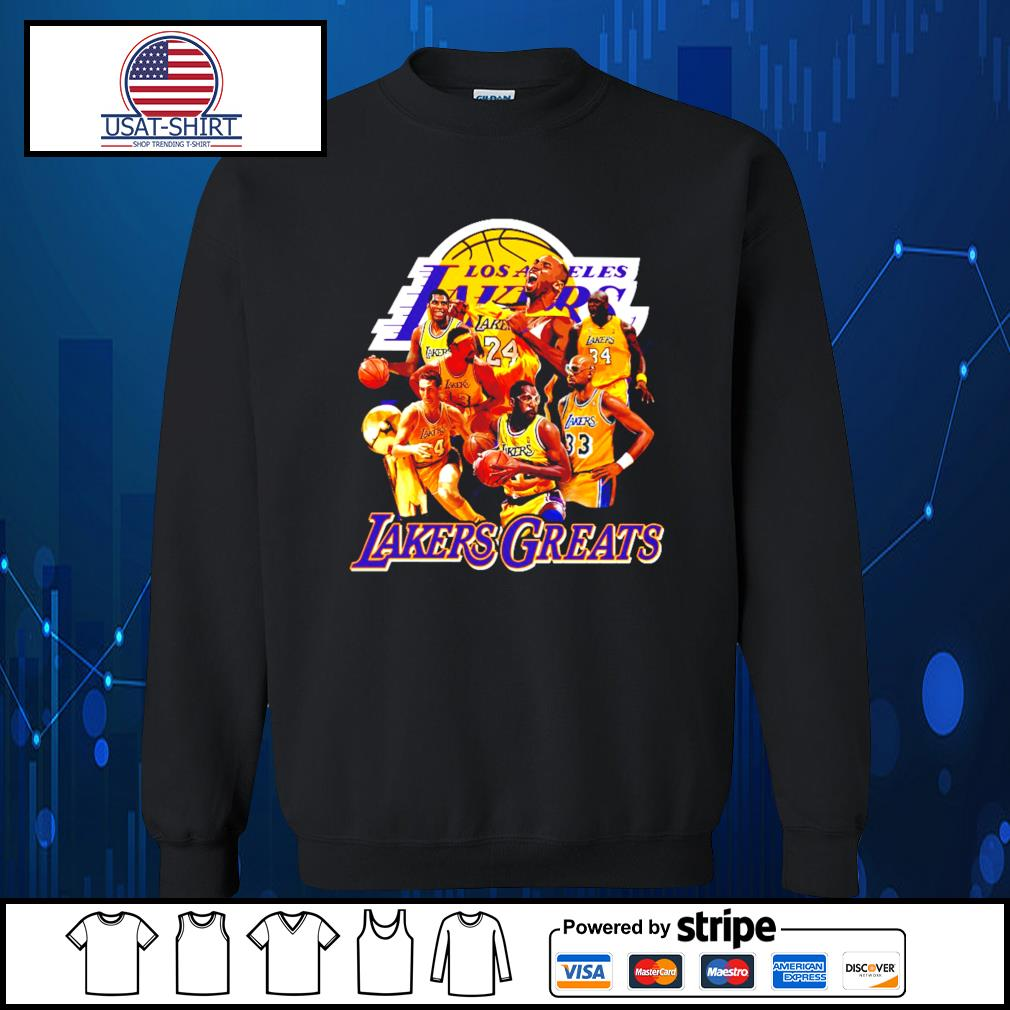 Los Angeles Lakers greats team play s Sweater
