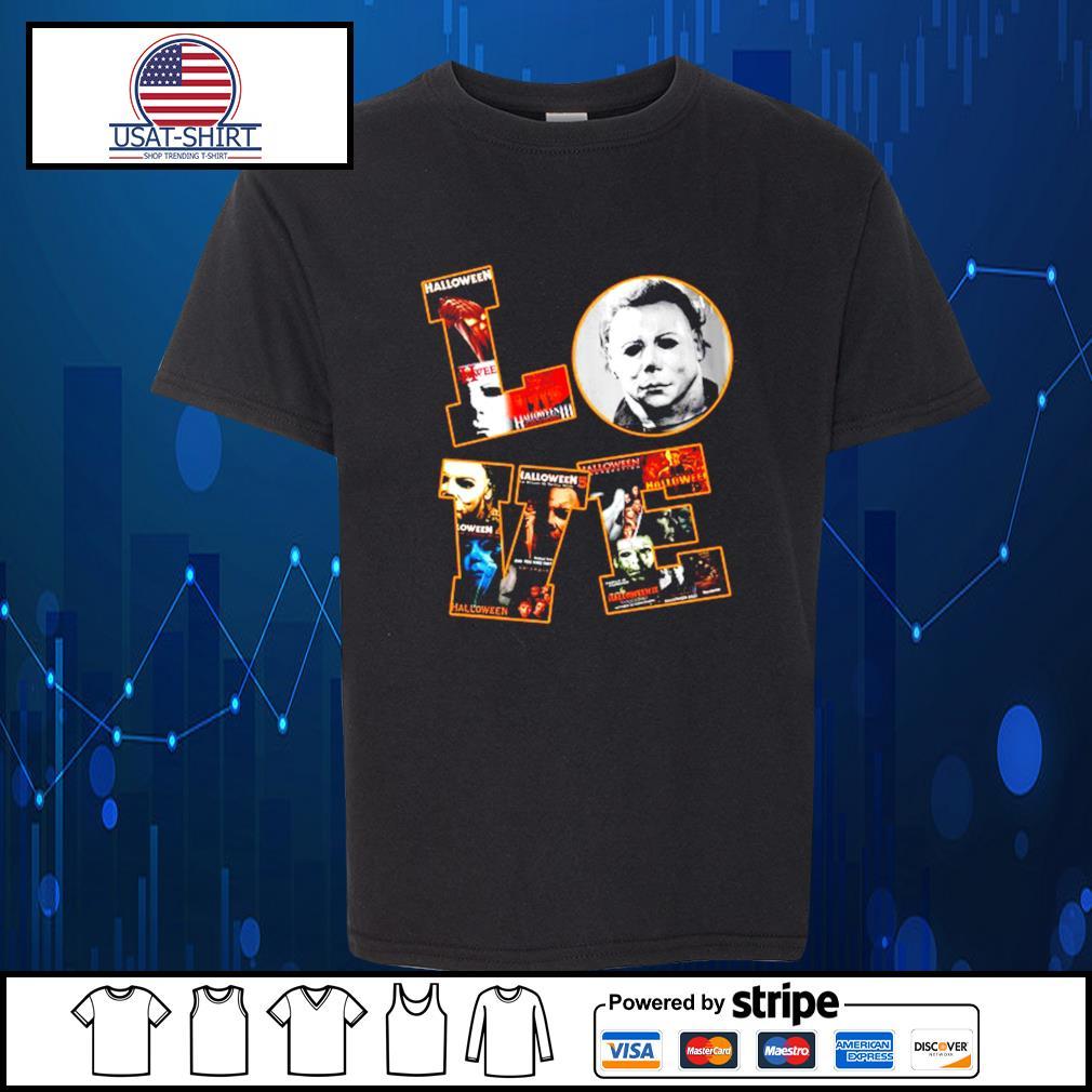 Love Michael Myers Halloween s Kid-T-shirt