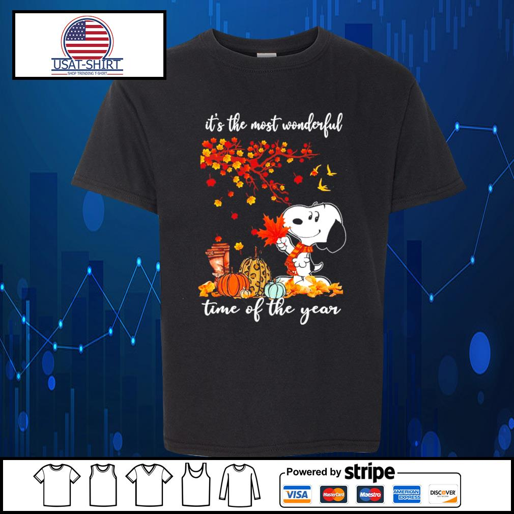 Snoopy it's the most wonderful time of the year s Kid-T-shirt