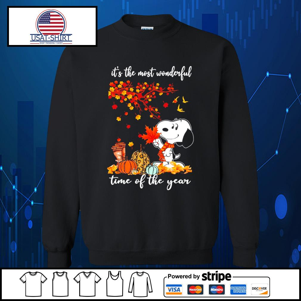 Snoopy it's the most wonderful time of the year s Sweater
