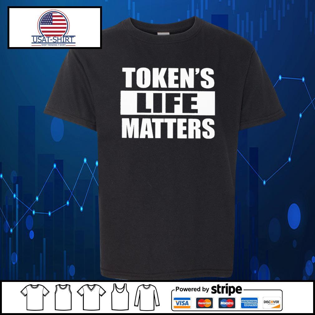 Token's life matters s Kid-T-shirt