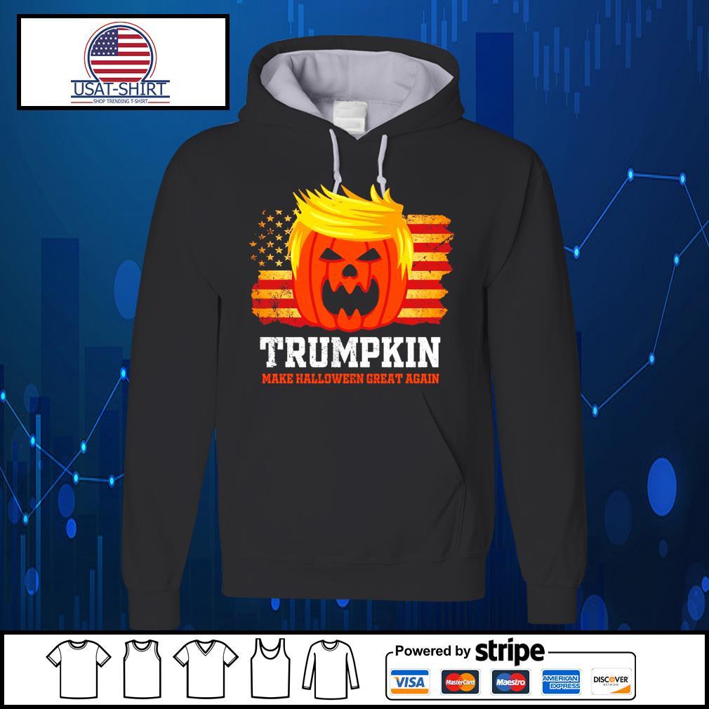 Trumpkin make halloween great again American s Hoodie