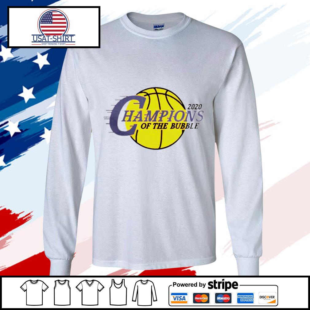 2020 L.A Champions Of The Bubble s longsleeve-tee