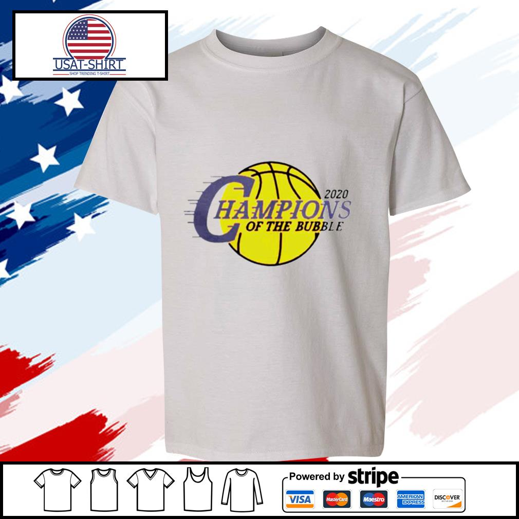 2020 L.A Champions Of The Bubble s youth-tee