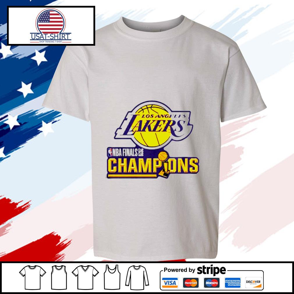 2020 Los Angeles Lakers Champions s youth-tee