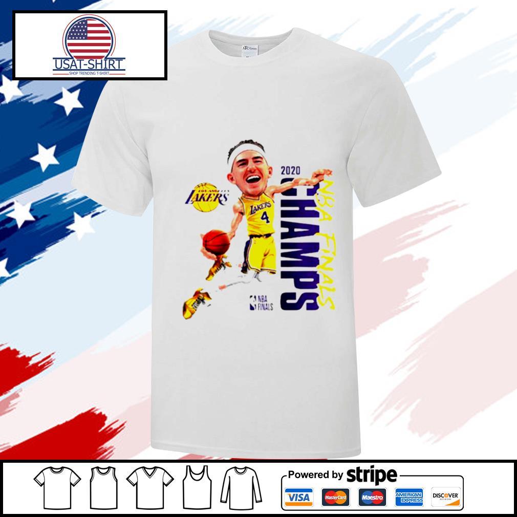 Alex Caruso Los Angeles Lakers Champions 2020 shirt