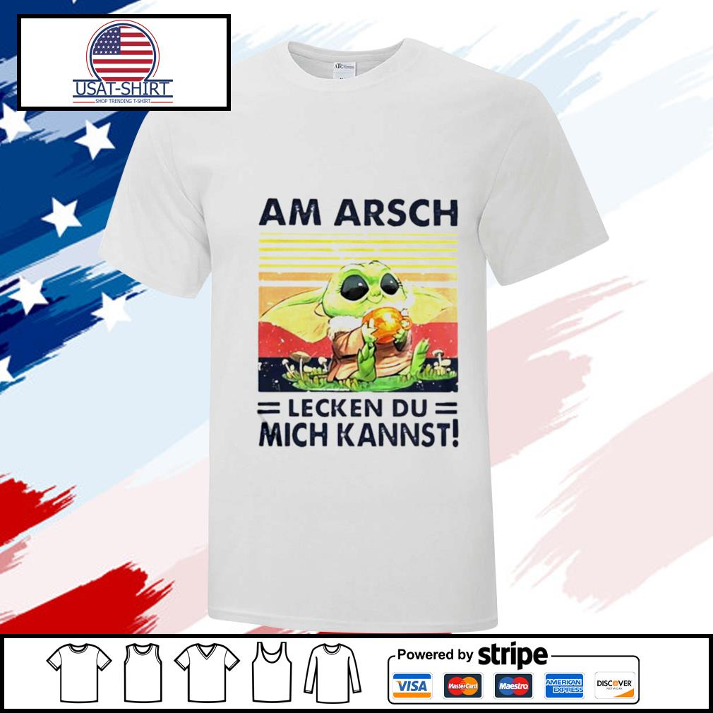 Am Arsch Lecken Du Mich Kannst Vintage Hemd shirt