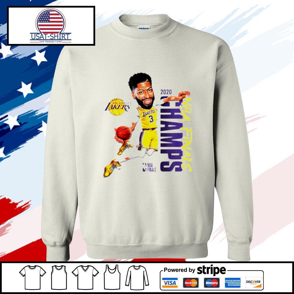 Anthony Davis LA Lakers Champions 2020 s sweater