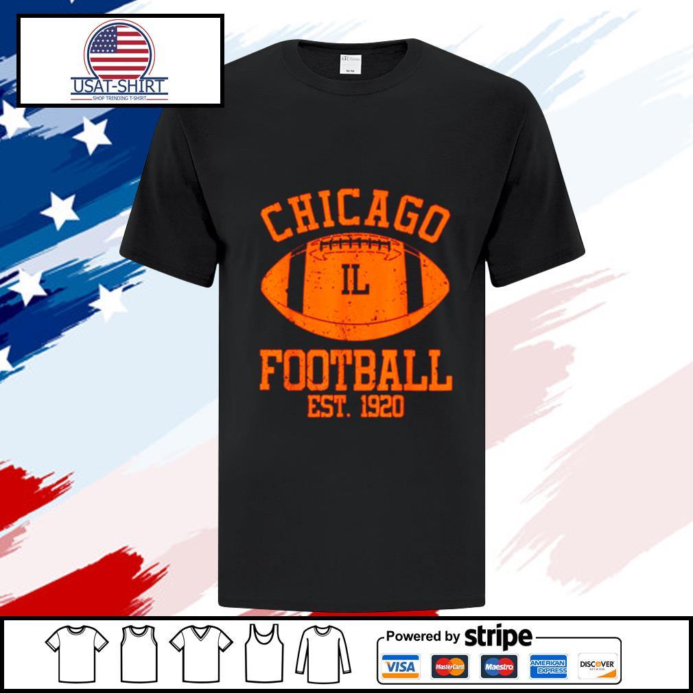Chicago Football Fan Present Idea shirt