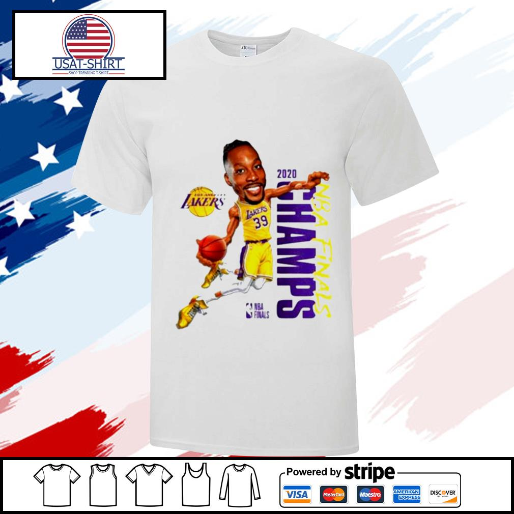 Dwight Howard Team Los Angeles Lakers Branded 2020 NBA Finals Champions shirt