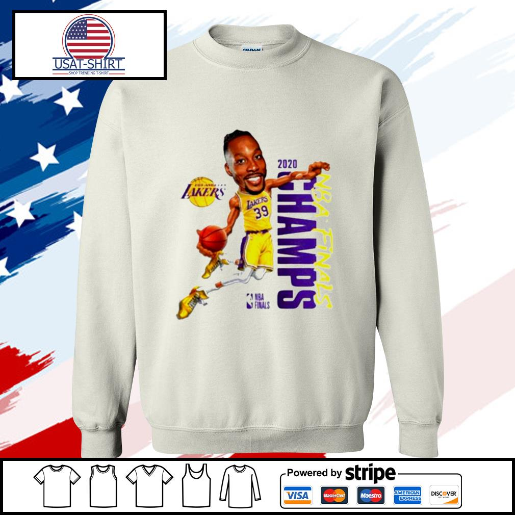 Dwight Howard Team Los Angeles Lakers Branded 2020 NBA Finals Champions s sweater