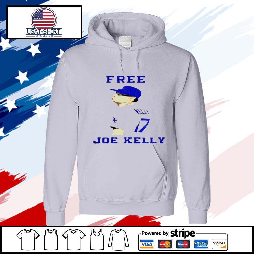 Free Joe Kelly Face s hoodie