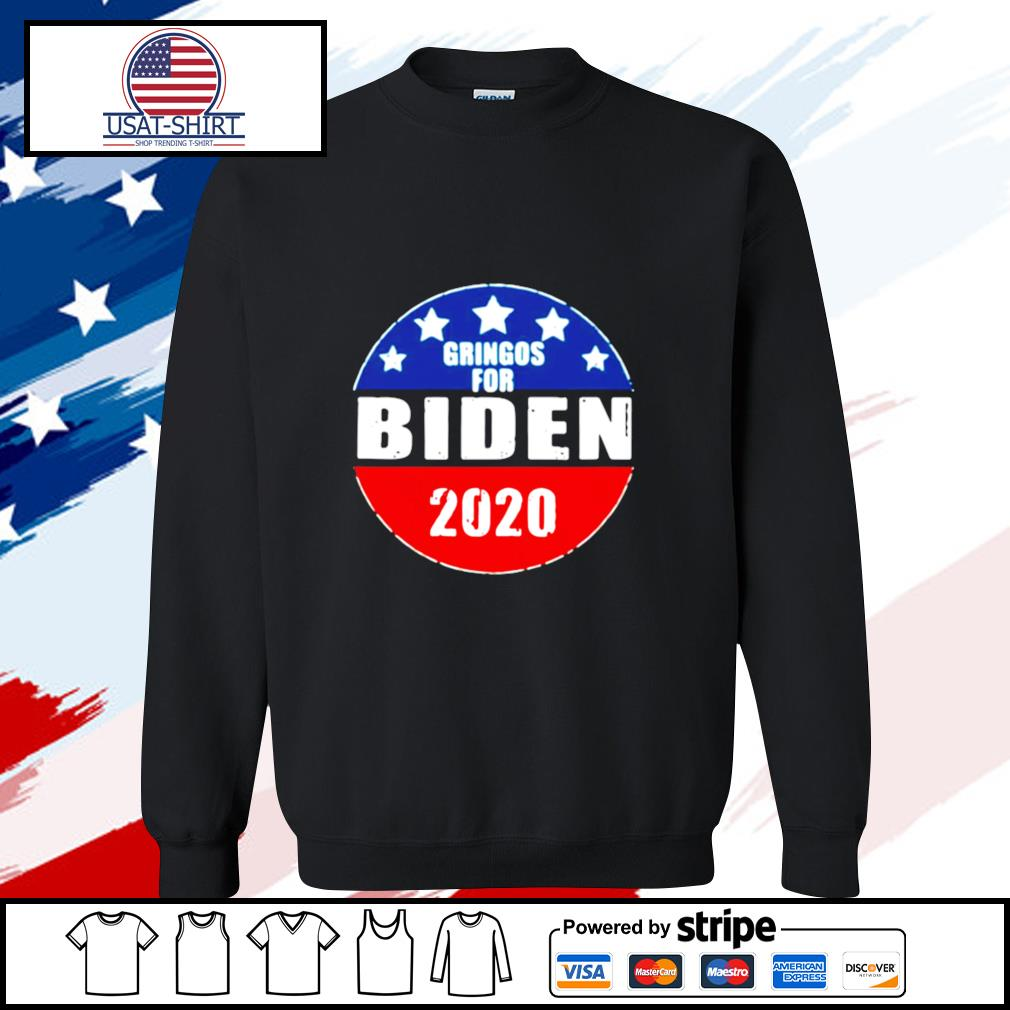 Gringos For Biden 2020 s sweater
