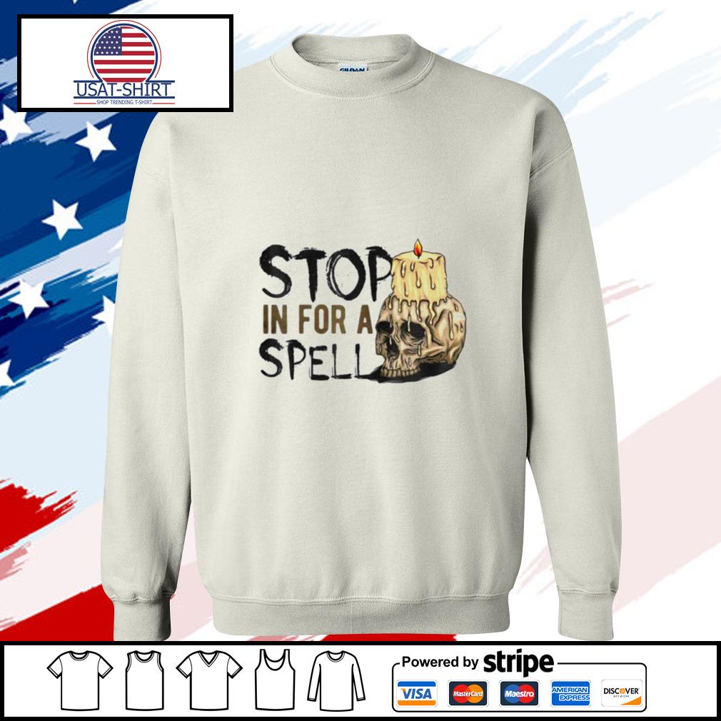 Halloween Stop in for a spell s sweater