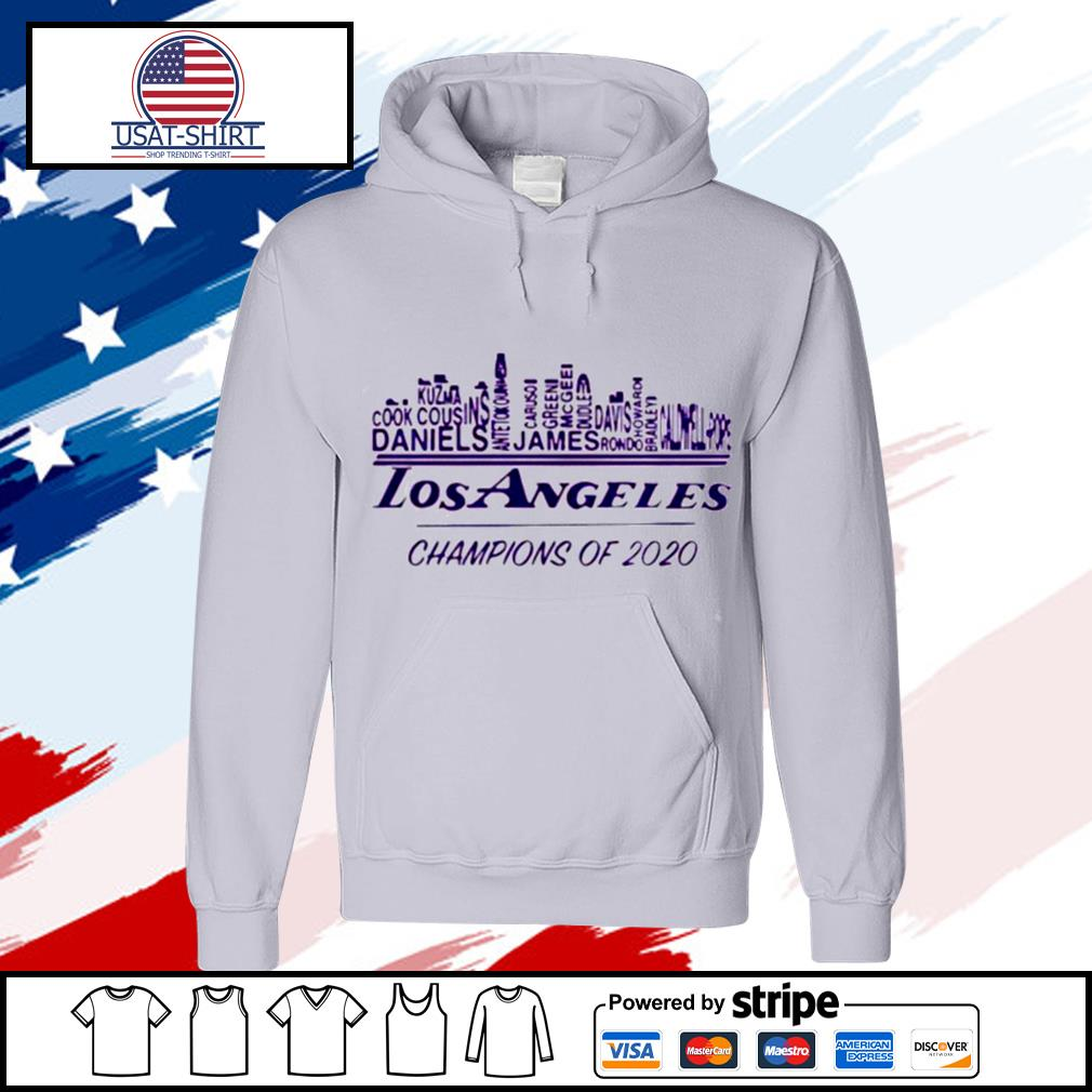 Los Angeles Champions Of 2020 Nba Western Conference s hoodie