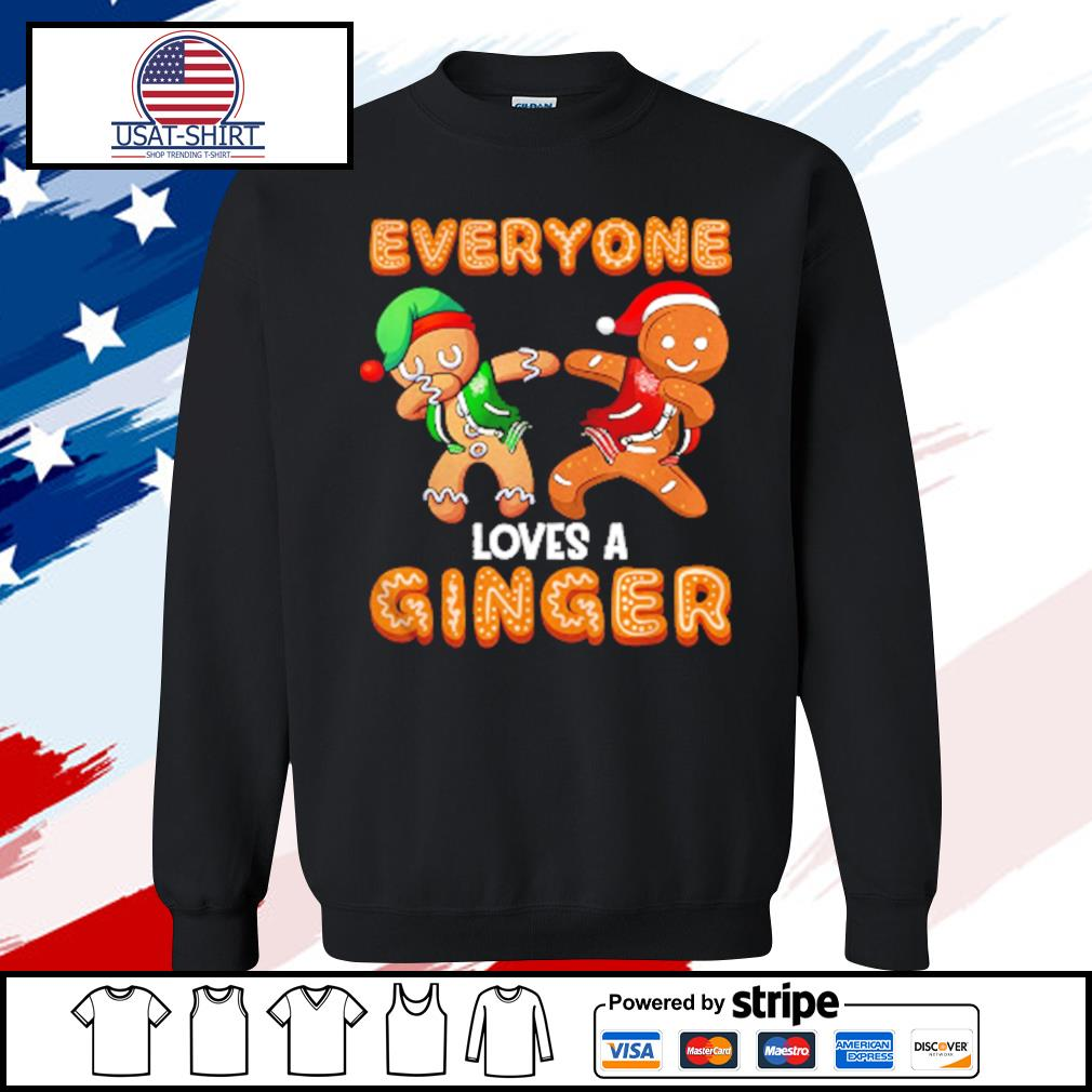 Everyone Loves A Ginger Gingerbread Christmas s sweater