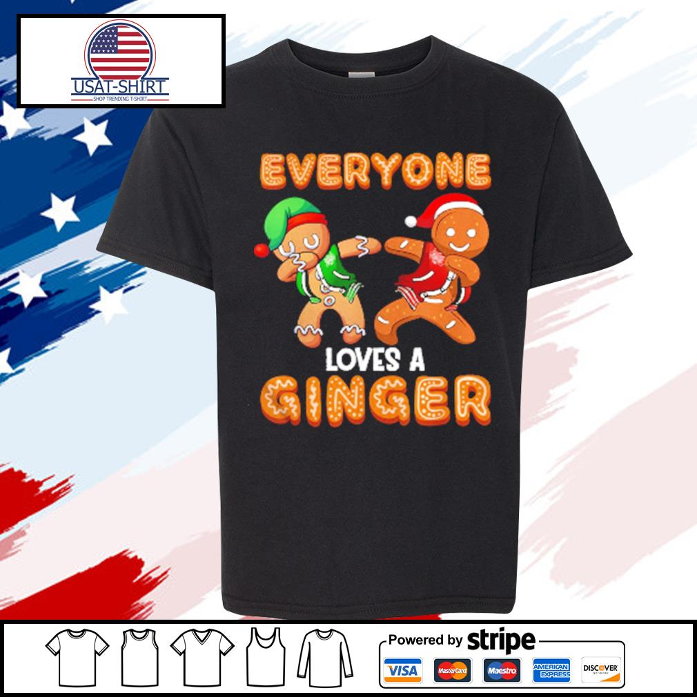 Everyone Loves A Ginger Gingerbread Christmas s youth-tee