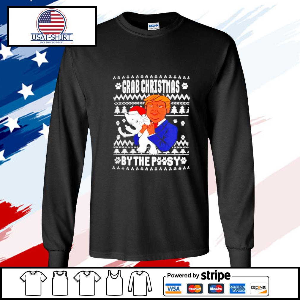 Grab Christmas By The Pussy Donald Trump s longsleeve-tee
