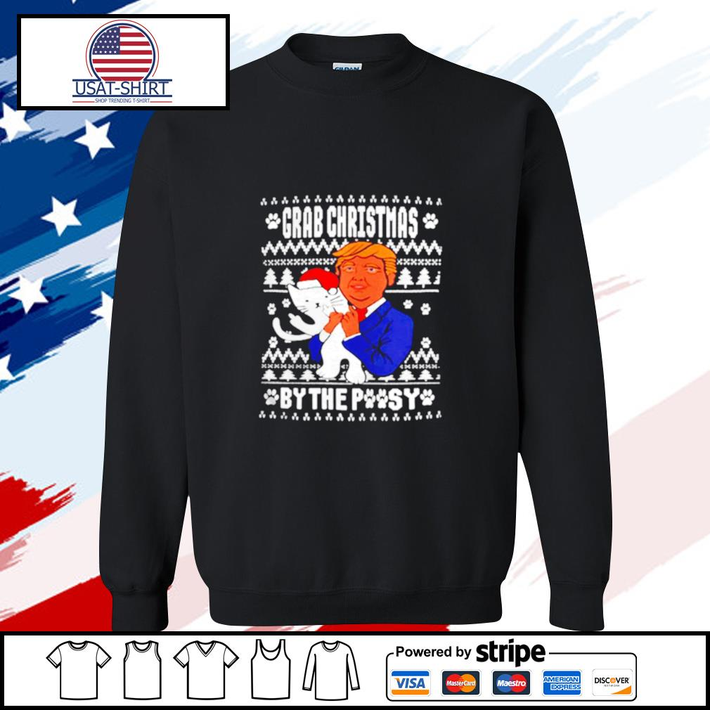 Grab Christmas By The Pussy Donald Trump s sweater