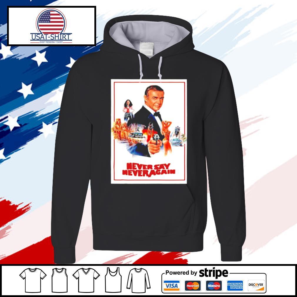 James Bond 007 Never Say Never Again s hoodie