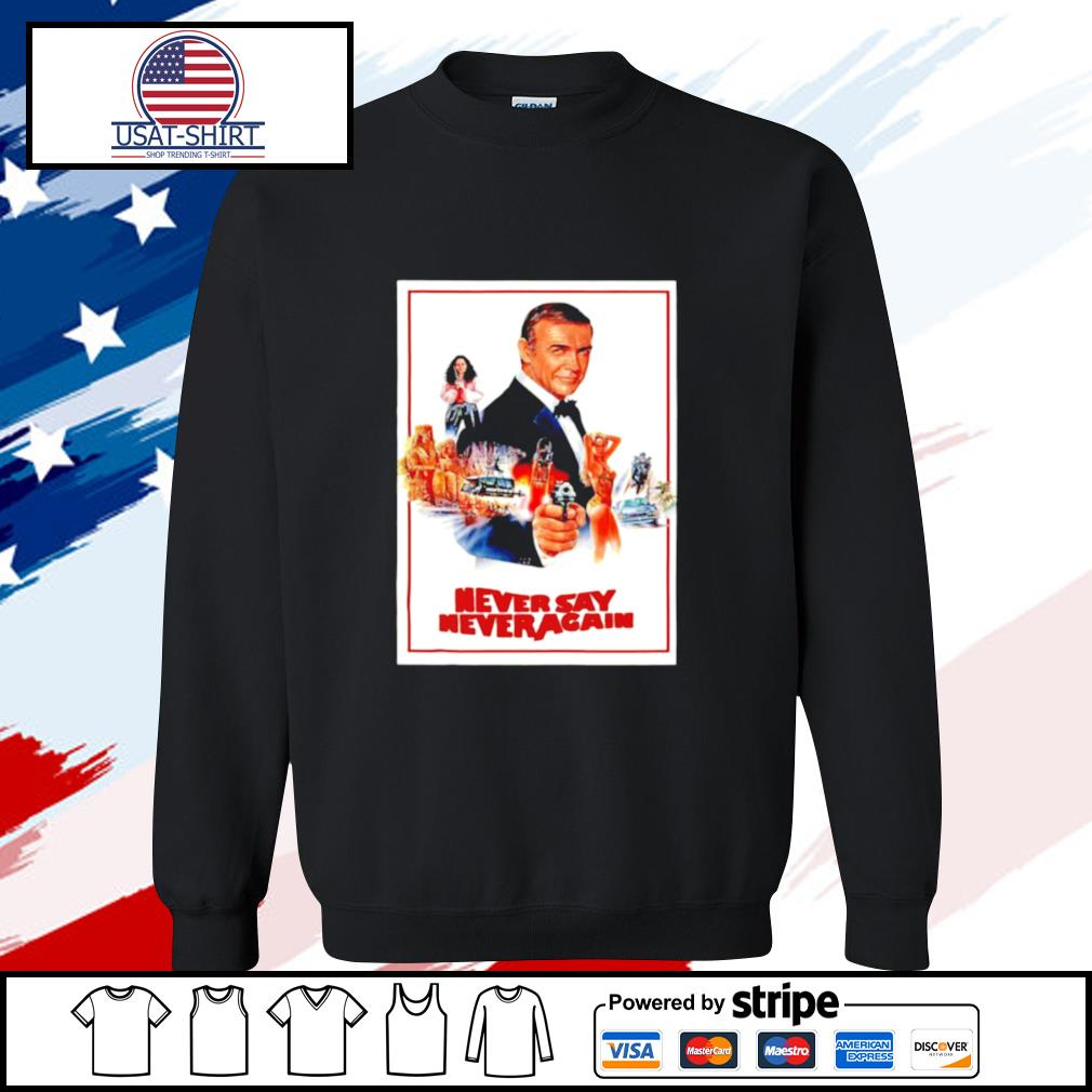 James Bond 007 Never Say Never Again s sweater