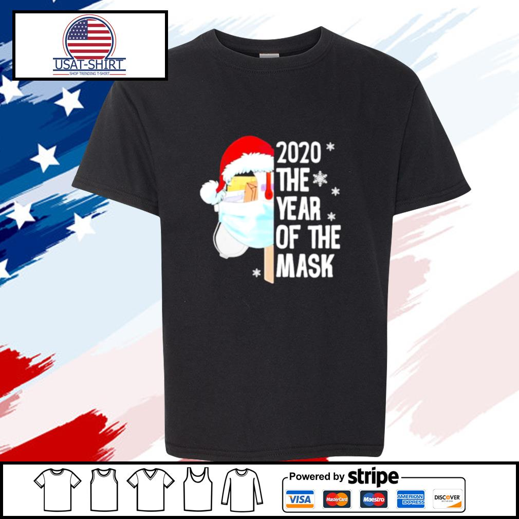 Mailbox Santa 2020 The Years Of The Mask Christmas s youth-tee