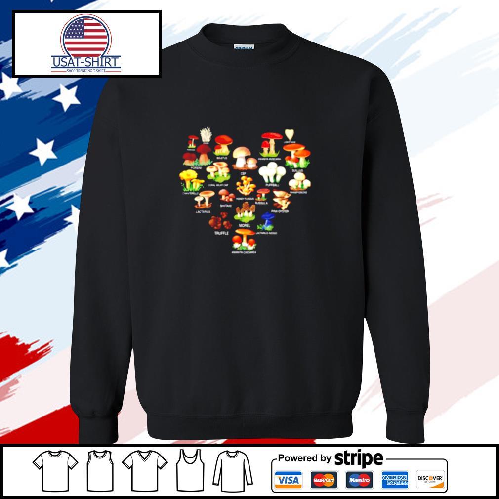 Mushroom Parasol Enoki Boletus s sweater